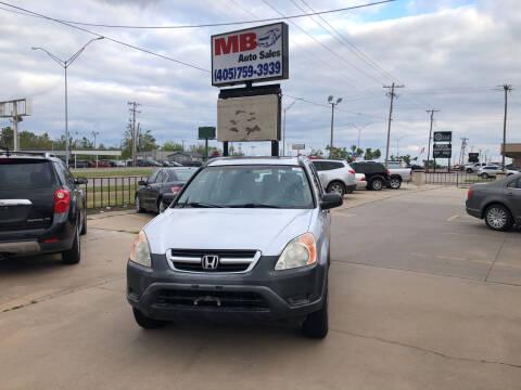 2003 Honda CR-V for sale at MB Auto Sales in Oklahoma City OK