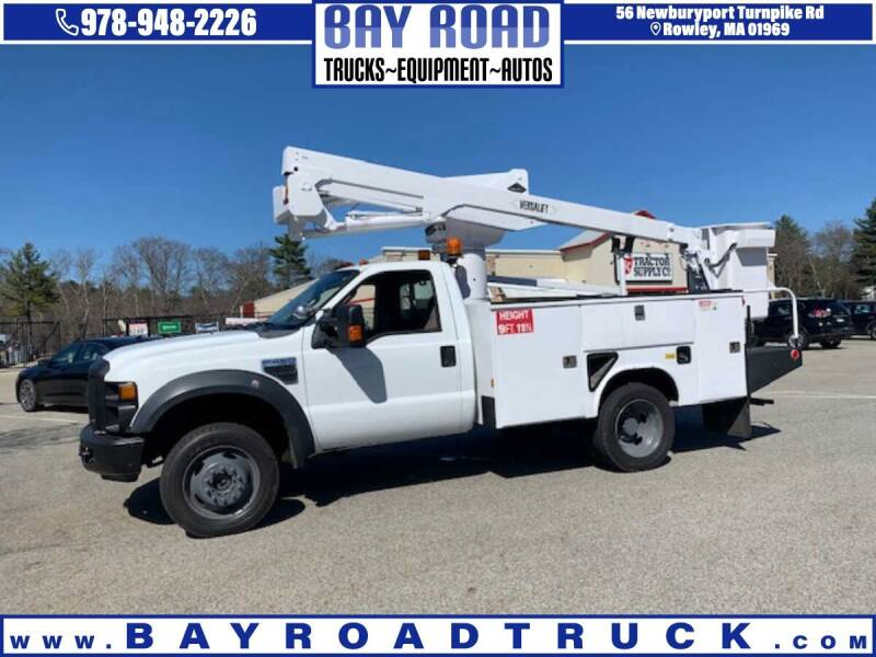 2008 Ford F-450 Super Duty for sale at Bay Road Trucks in Newbury MA