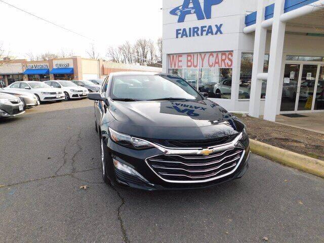 2020 Chevrolet Malibu for sale at AP Fairfax in Fairfax VA