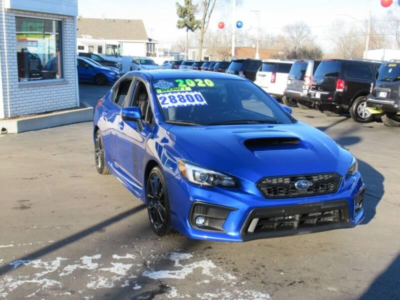 2020 Subaru WRX for sale at Auto Land Inc in Crest Hill IL