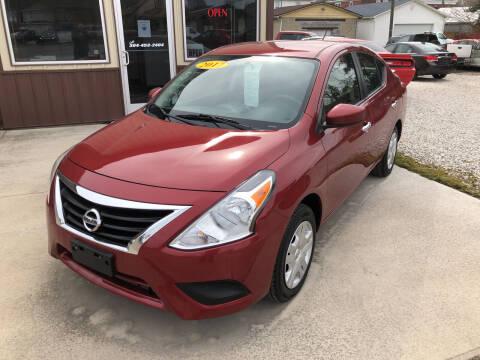 2017 Nissan Versa for sale at ADKINS PRE OWNED CARS LLC in Kenova WV