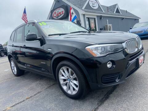 2015 BMW X3 for sale at Cape Cod Carz in Hyannis MA