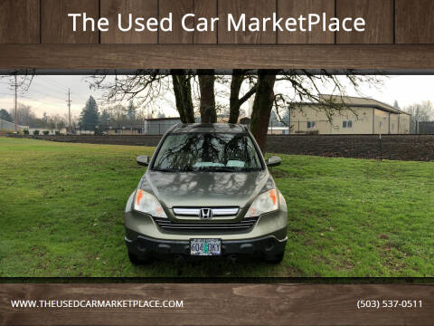 2007 Honda CR-V for sale at The Used Car MarketPlace in Newberg OR