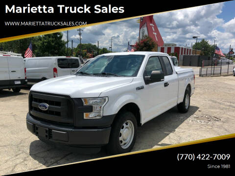 2015 Ford F-150 for sale at Marietta Truck Sales in Marietta GA