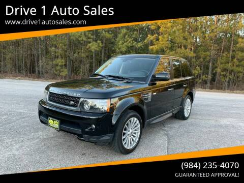 2011 Land Rover Range Rover Sport for sale at Drive 1 Auto Sales in Wake Forest NC