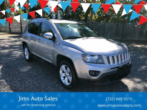 2014 Jeep Compass for sale at Jims Auto Sales in Lakehurst NJ