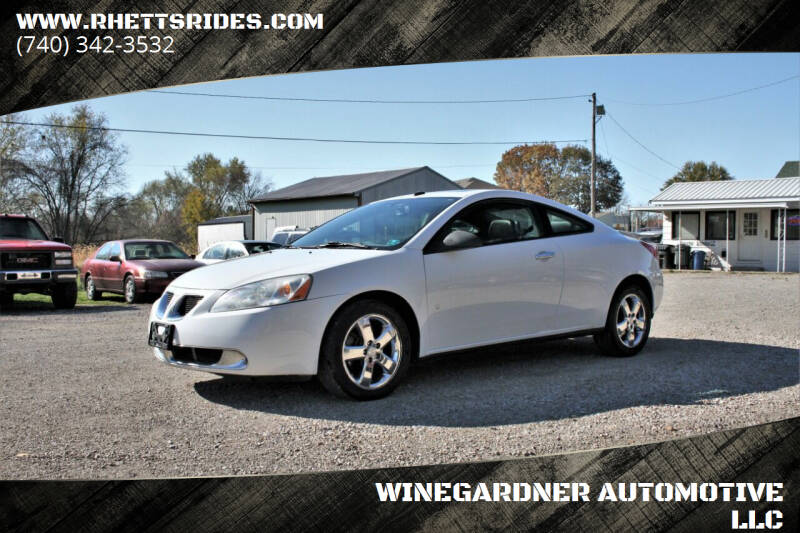 2009 Pontiac G6 for sale at WINEGARDNER AUTOMOTIVE LLC in New Lexington OH
