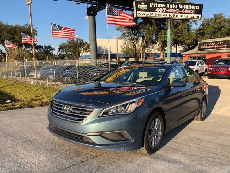 2016 Hyundai Sonata for sale at Prime Auto Solutions in Orlando FL