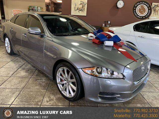 2013 Jaguar XJ for sale at Amazing Luxury Cars in Snellville GA