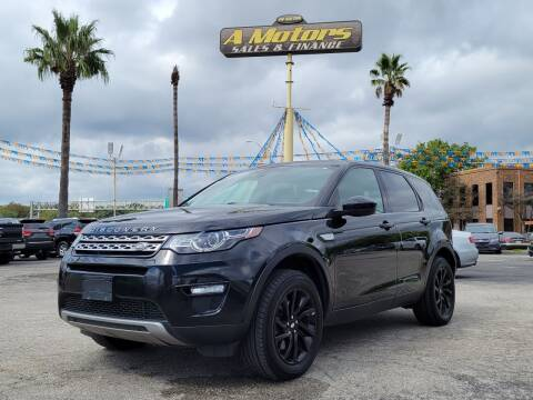 2016 Land Rover Discovery Sport for sale at A MOTORS SALES AND FINANCE in San Antonio TX
