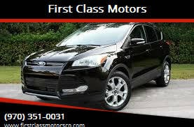 2013 Ford Escape for sale at First Class Motors in Greeley CO