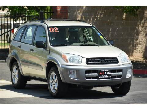 2002 Toyota RAV4 for sale at A-1 Auto Wholesale in Sacramento CA
