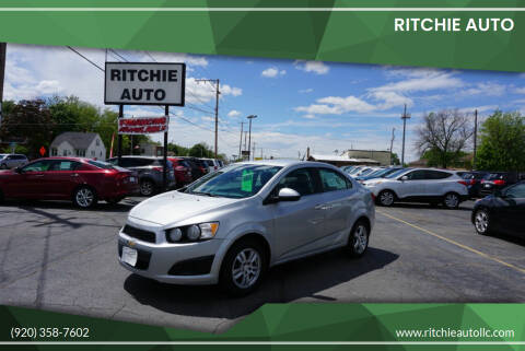 2014 Chevrolet Sonic for sale at Ritchie Auto in Appleton WI