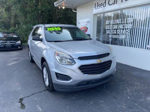 2017 Chevrolet Equinox for sale at Used Car Factory Sales & Service in Port Charlotte FL