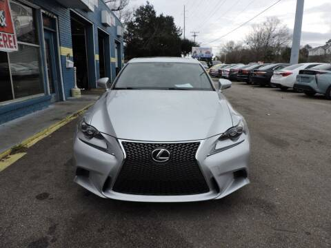 2014 Lexus IS 250 for sale at Drive Auto Sales & Service, LLC. in North Charleston SC
