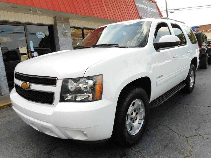 2014 Chevrolet Tahoe for sale at Super Sports & Imports in Jonesville NC