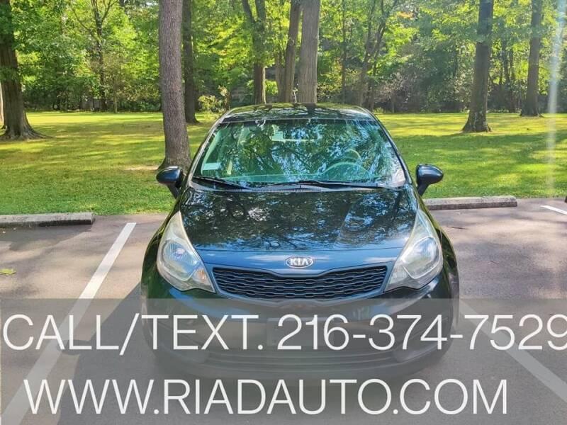 2013 Kia Rio for sale at Riad Auto Sales in Cleveland OH