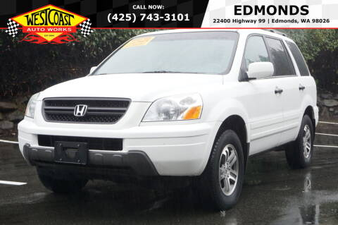 2004 Honda Pilot for sale at West Coast Auto Works in Edmonds WA