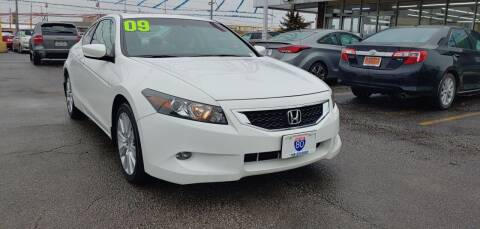 2009 Honda Accord for sale at I-80 Auto Sales in Hazel Crest IL