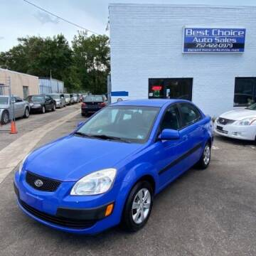 2009 Kia Rio for sale at Best Choice Auto Sales in Virginia Beach VA
