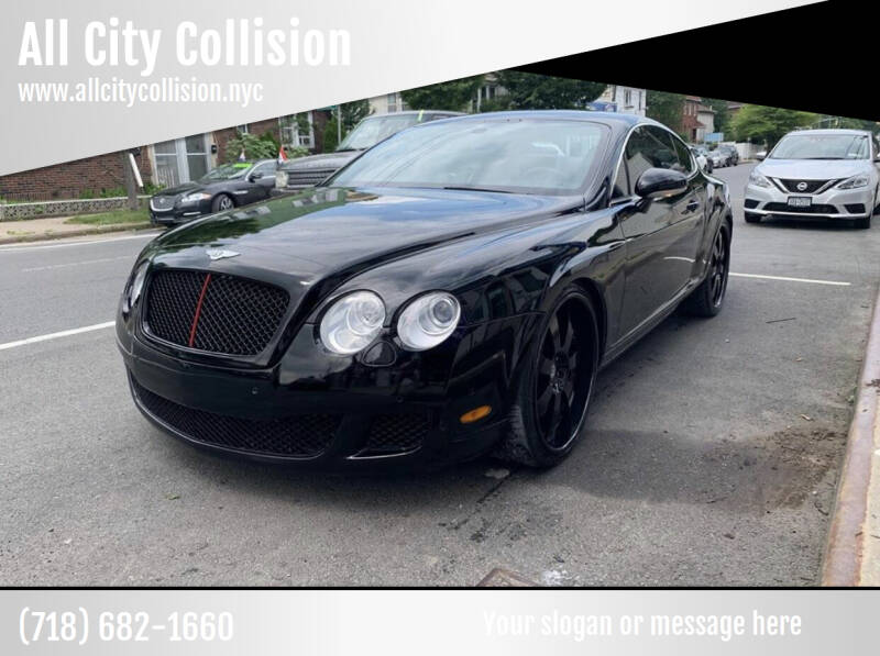 2006 Bentley Continental for sale at All City Collision in Staten Island NY