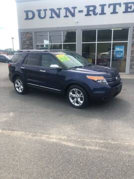 2011 Ford Explorer for sale at Dunn-Rite Auto Group in Kilmarnock VA