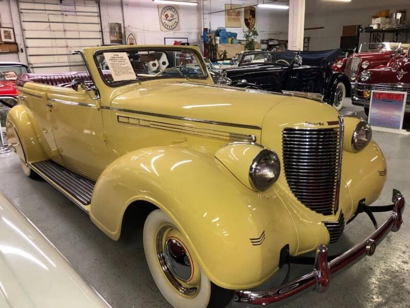 1938 Chrysler Imperial for sale at Berliner Classic Motorcars Inc in Dania Beach FL