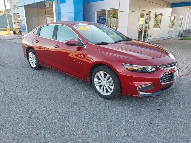 2018 Chevrolet Malibu for sale at Frenchie's Chevrolet and Selects in Massena NY