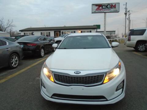 2015 Kia Optima Hybrid for sale at Zoom Auto Sales in Oklahoma City OK
