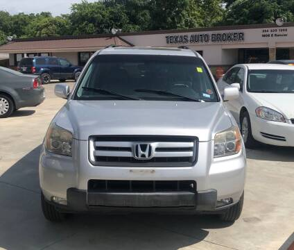 2007 Honda Pilot for sale at Texas Auto Broker in Killeen TX