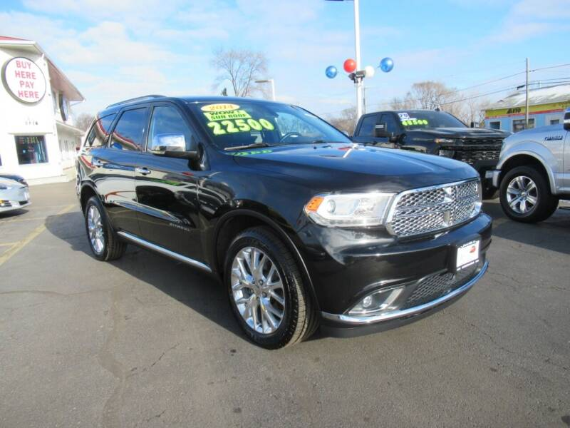 2014 Dodge Durango for sale at Auto Land Inc in Crest Hill IL