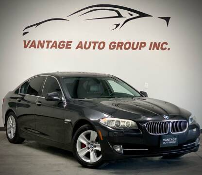 2012 BMW 5 Series for sale at Vantage Auto Group Inc in Fresno CA