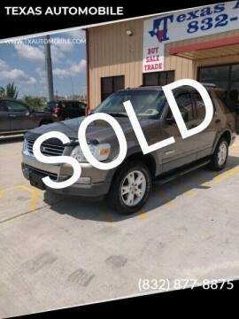 2006 Ford Explorer for sale at TEXAS AUTOMOBILE in Houston TX
