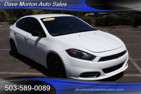 2015 Dodge Dart for sale at Dave Morton Auto Sales in Salem OR