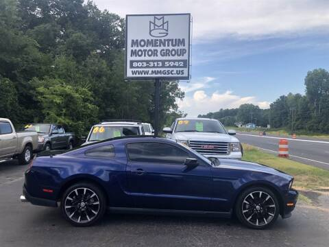 2012 Ford Mustang for sale at Momentum Motor Group in Lancaster SC