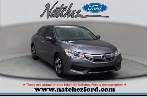 2016 Honda Accord for sale at Auto Group South - Natchez Ford Lincoln in Natchez MS