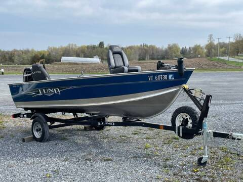2014 Lund 1400 Fury for sale at Champlain Valley MotorSports in Cornwall VT