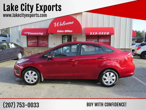 2013 Ford Fiesta for sale at Lake City Exports - Lewiston in Lewiston ME