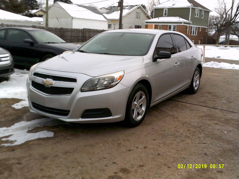 2013 Chevrolet Malibu for sale at Fred Elias Auto Sales in Center Line MI