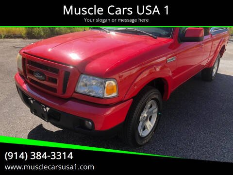 2006 Ford Ranger for sale at Muscle Cars USA 1 in Murrells Inlet SC