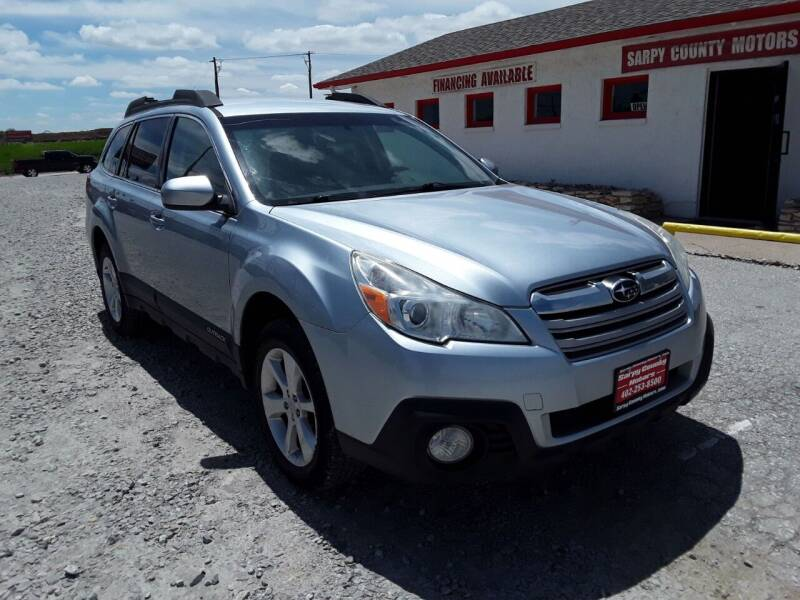 2014 Subaru Outback for sale at Sarpy County Motors in Springfield NE