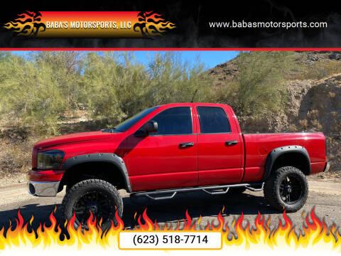 2007 Dodge Ram Pickup 1500 for sale at Baba's Motorsports, LLC in Phoenix AZ