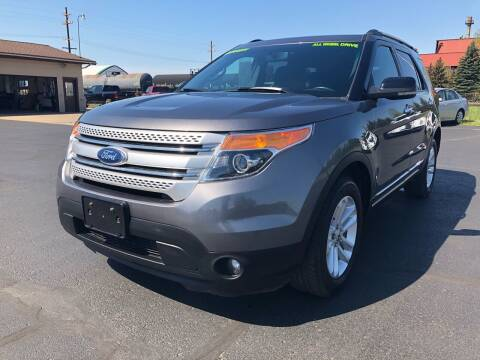 2011 Ford Explorer for sale at Mike's Budget Auto Sales in Cadillac MI
