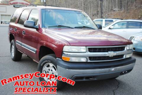2004 Chevrolet Tahoe for sale at Ramsey Corp. in West Milford NJ