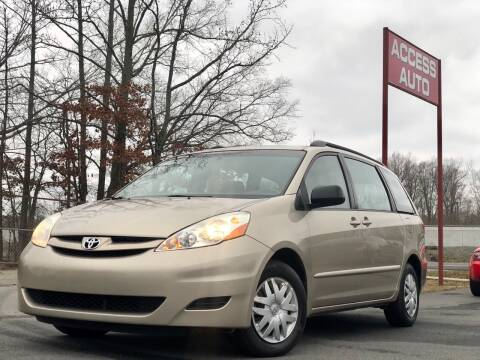 2007 Toyota Sienna for sale at Access Auto in Cabot AR