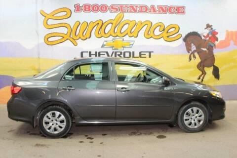 2010 Toyota Corolla for sale at Sundance Chevrolet in Grand Ledge MI