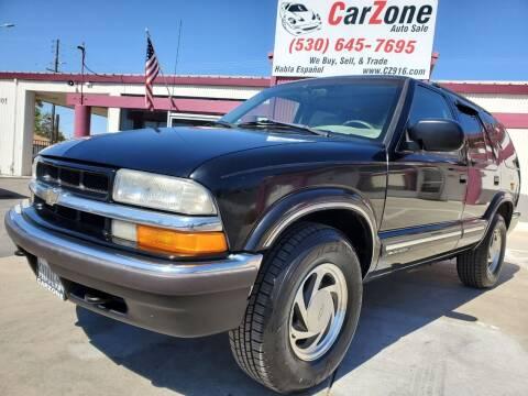 2000 Chevrolet Blazer for sale at CarZone in Marysville CA