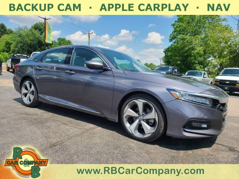 2018 Honda Accord for sale at R & B CAR CO - R&B CAR COMPANY in Columbia City IN