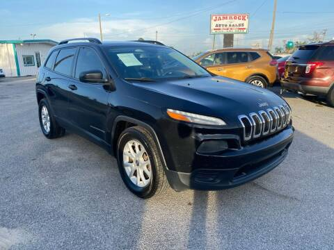 2016 Jeep Cherokee for sale at Jamrock Auto Sales of Panama City in Panama City FL