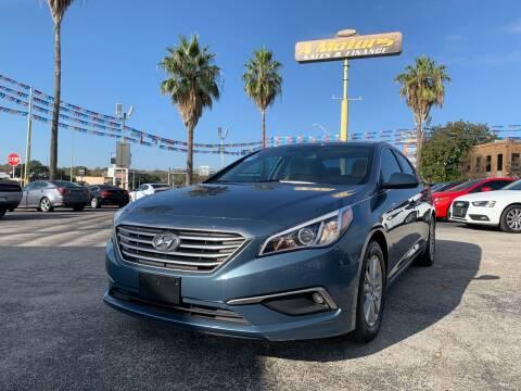 2017 Hyundai Sonata for sale at A MOTORS SALES AND FINANCE - 10110 West Loop 1604 N in San Antonio TX